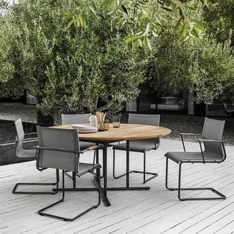 whirl tisch rund 150 cm. Black Bedroom Furniture Sets. Home Design Ideas